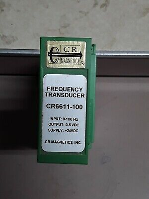 Cr Magnetics Dc Current Transducer Cr6611-100