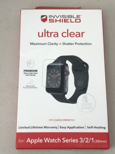 ZAGG - InvisibleShield Ultra Clear Screen Protector Apple Watch 38mm 1,2&3   Z53