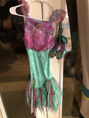 Little Mermaid Girl Costume -size Xs (4 Toddler) - Toddler Little Mermaid Costume