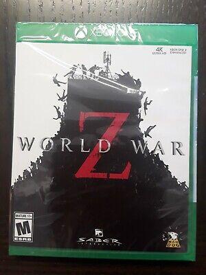 New Sealed World War Z (Xbox One, 2019)