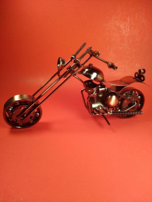Collectible Metal Motorcycle #M2-1 NIB