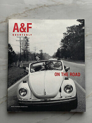 Abercrombie & Fitch Quarterly Back To School Magazine 1998 Catalog A&F