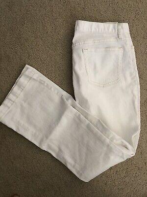 Gap Long Jeans - GAP Long & Lean White Jeans Sz 4 Gorgeous! Excellent Condition!