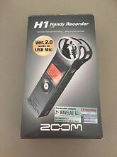 Zoom H1 Handy Digital Audio Recorder with Accessory Kit Croydon Park Canterbury Area Preview
