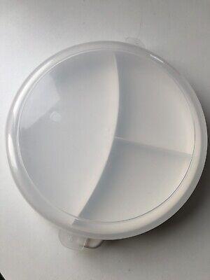 Bauscher Kantinenteller 3 geteilt Ø 26,5 Menüteller Speiseteller Portionsteller