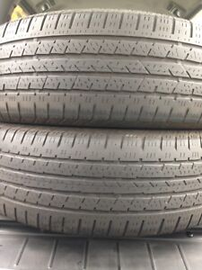 2-225/65R17 Continental all season