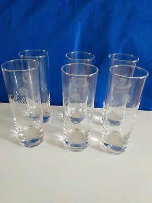 6 Gläser, Longdrinkgläser, Glas, Bar, Whisky Ballantines NEU!+OVP!