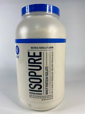 NEW Natures Best - Isopure Low Carb Vanilla - 3 Lbs. (1361 g) Exp.