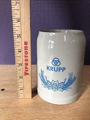 KRUPP W. Germany Beer Stein