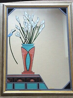 Leaded Stained Glass Mirror