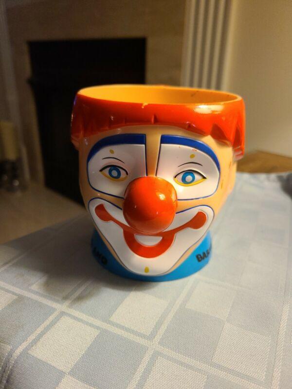 Ringling Brothers BARNUM & BAILEY Circus Happy Clown Mug Cup Red Hair