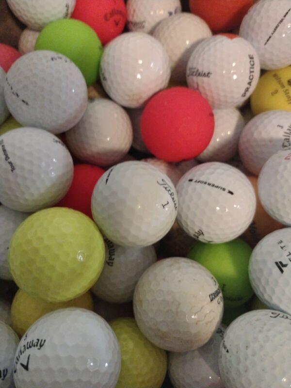 60 Golf Balls 5 dozen Titleist Callaway TaylorMade Bridgestone Srixon & others