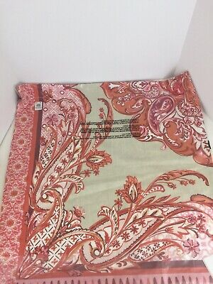 Pottery Barn Housse de Coussin Olympia Paisley Sofa Toss Pillow Cover 24