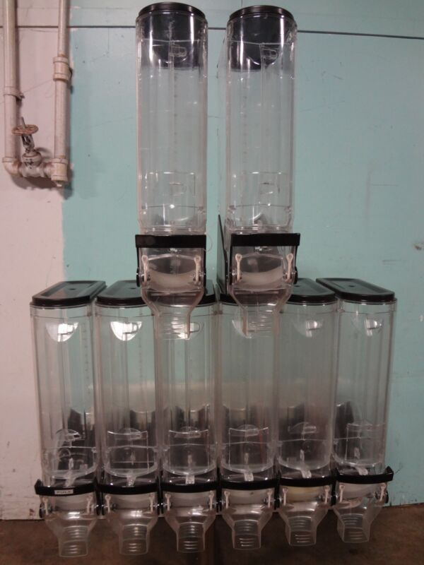 """TRADE FIXTURES"" COMMERCIAL ACRYLIC COFFEE BEAN/CANDY/GRAIN DISPLAY DISPENSER"