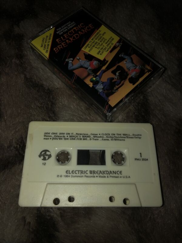 Electric Breakdance(1984 Cassette Tape)Hip-Hop/Rap Compilation
