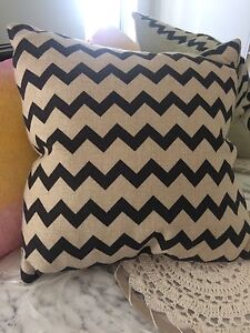 Linen cushion feather insert Bedford Bayswater Area Preview