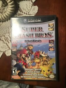 Nintendo game cube super smash bros melee