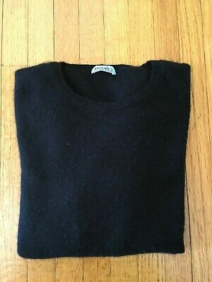 Vintage MALO, Italy Women's Black 100% Cashmere Sweater, Size S