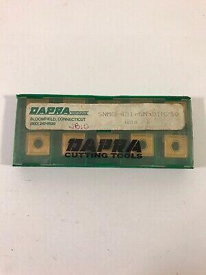 Dapra Carbide Inserts Snmg-431-gm-dtm250 Qty 10