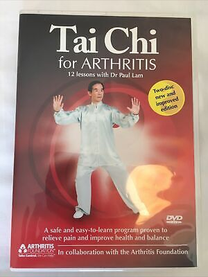 Tai Chi For Arthritis: 12 Lessons with Dr Paul Lam (DVD, 2009, 2-Disc Set)