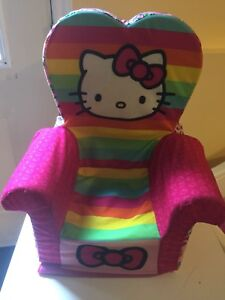 Toddler hello kitty chair