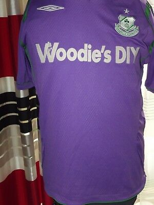 2009-10 Shamrock Rovers Away (L) Jersey Trikot Maillot Shirt Maglia Camiseta. image