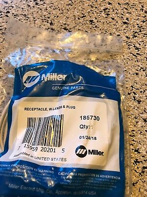 Miller 185730 Receptacle With Lead For Xmt 304