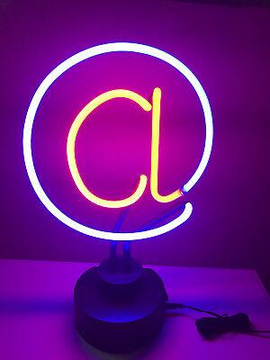 @@ ZEICHEN @@ Internet NEON signs Leuchte Neonreklame Computer news