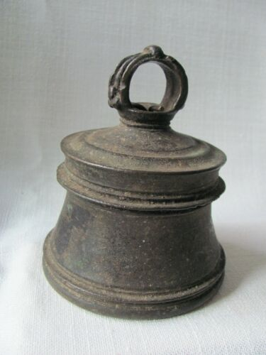 Antique Ceylonese / Sri Lankan /South Asian Bronze Bell