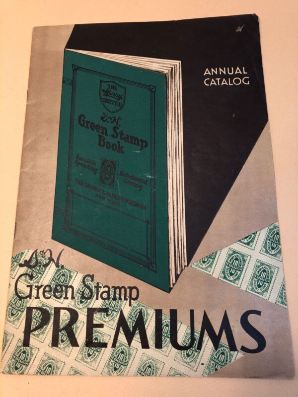 1930s Sperry and Hutchinson S&H Green Stamps Premium Catalog Roseville, Baseball