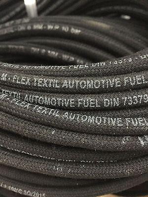 Benzinschlauch Ø 3,2mm Textilgewebe Diesel Kraftstoffschlauch DIN 73379