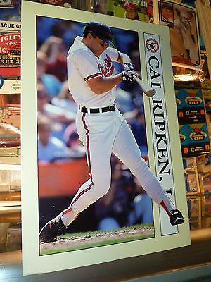 RARE 1991 Baltimore Cal Ripken Jr Collectible Sport Art Baseball Card Notepad!