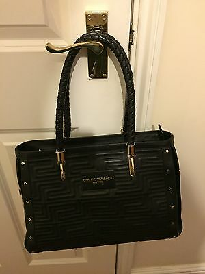Versace Black Leather Handbag - *Brand New & Genuine*