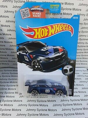 HOT WHEELS BMW Z4 M MOTORSPORT GERMAN RACE BMW SERIES  BLUE