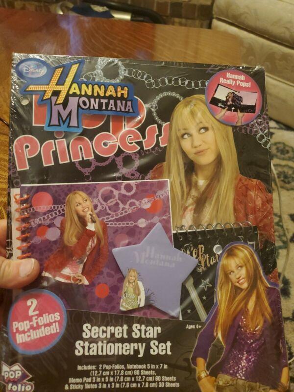 HANNAH MONTANA Secret Star Stationery Set