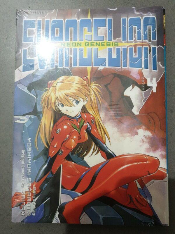 Neon Genesis Evangelion Vol 4 - English Language Manga. New Sealed