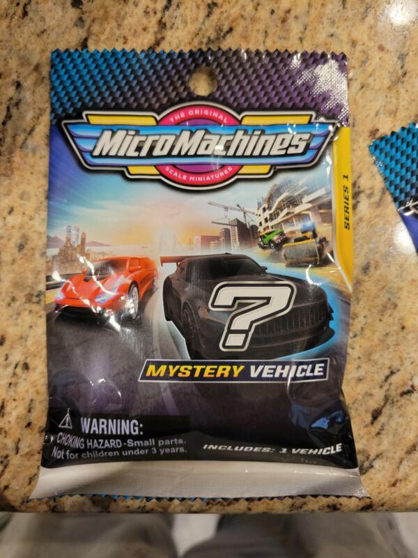 2020 Micro Machines Mystery Vehicle Blind Bag Series 1 MMW0002