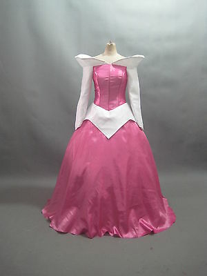 eping Beauty Princess Aurora Costume Pink adult SIZE 18-28 (Plus Size Disney Kleider)