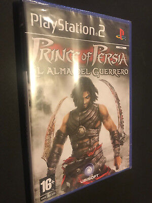 Prince of Persia Alma Guerrero PS2 Play Station 2 Pal ESPAÑOL NUEVO...