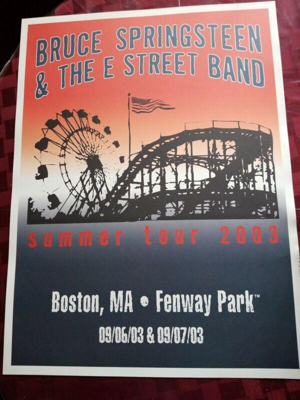 BRUCE SPRINGSTEEN SUMMER TOUR 2003 FENWAY PARK BOSTON