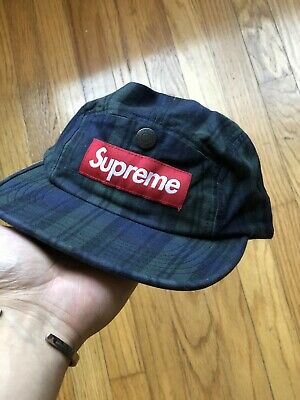 Plaid Flannel Supreme Camp Cap 5 - Flannel Cap