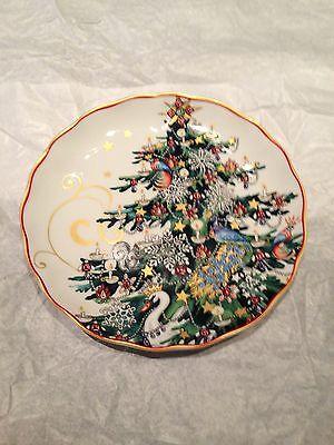 Williams Sonoma 2013 Twas Twas The Night Before Christmas Salad Plate   Tree