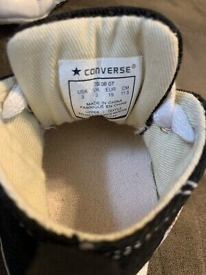Baby Converse size 3 Chuck Taylor