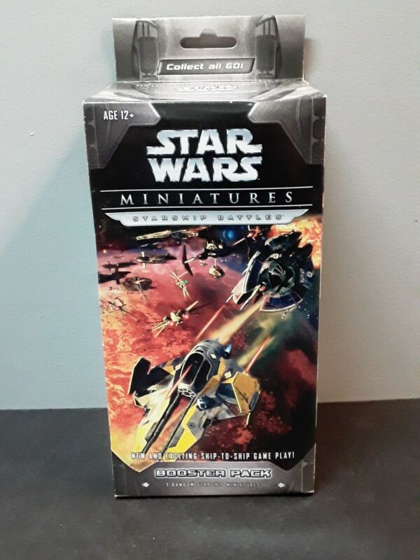 Wizards of the Coast Star Wars Miniatures Starship Battles Booster Pack NIB