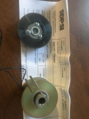 Deltran  24VDC S90CSC-17A0404  Electromagnetic Shaft-Mounted Clutch Coupling