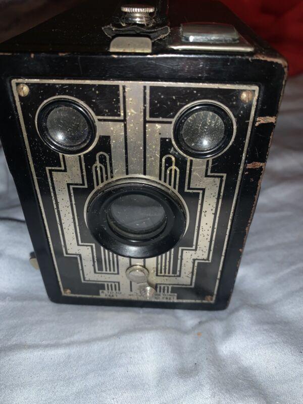 Kodak Six-20 Brownie  Art Deco 620 Film Box Camera