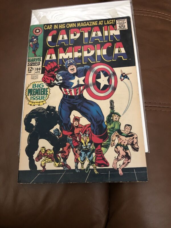 Captain America #100 (Apr 1968, Marvel)