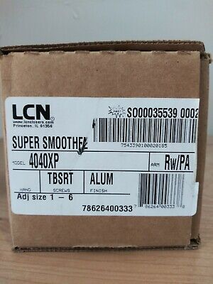 Lcn Super Smoothee 4040xp 4041da Rwpa Alum Heavy Duty Commercial Door Closer