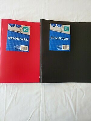 Lot X2 Pen Gear Standard 1 Inch 3-ring Binder 1 Black 1 Red Brand New