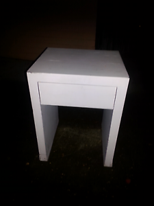 Wooden side table with drawer Taringa Brisbane South West Preview